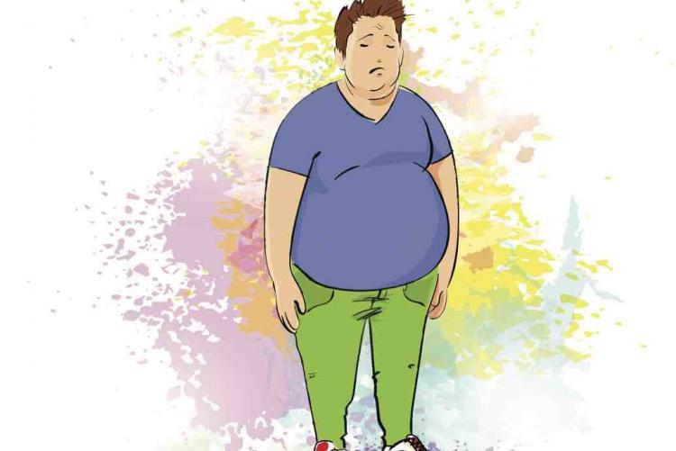 Assim como a ginecomastia, a obesidade pode ser causa de depressão.